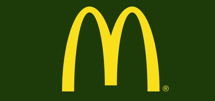 Mcdonalds eier frühstück logo grün