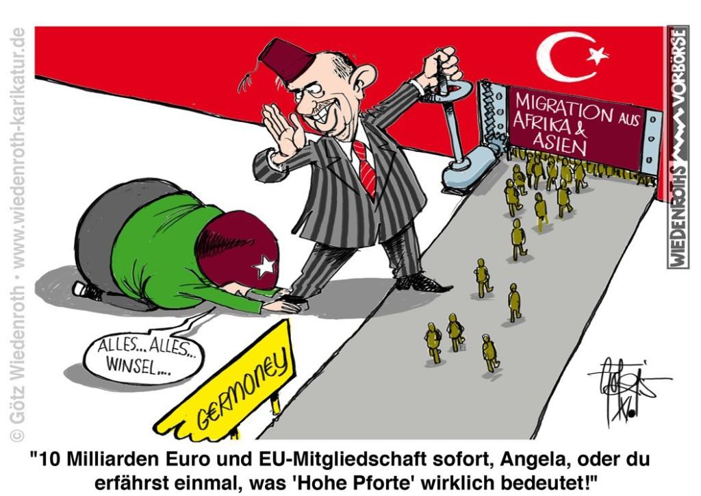 Die Türkei soll es richten (Karikatur)