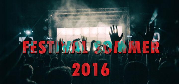 Top 5 Festivals 2016