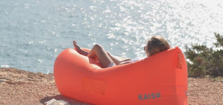 aufblasbarer Sitzsack - Einfacher Transport und Komfort - Kaisr Sitzsack