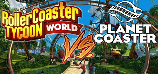 Rollercoaster tycoon world vs. planet coaster vs gegen vergleich