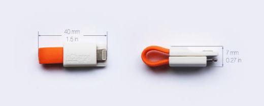inCharge - das USB-Kabel, dass Du nie vergisst!