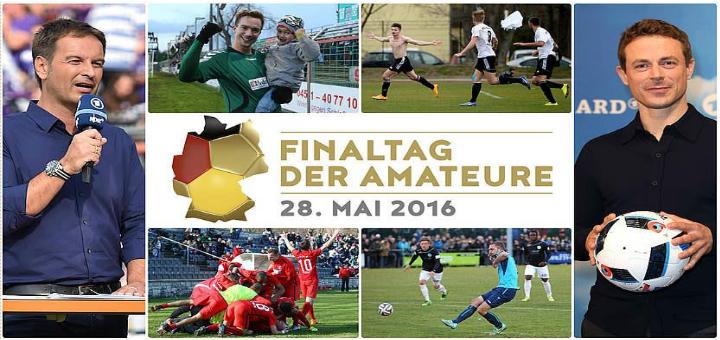 Finaltag der Amateure live in der ARD - Amateurfussball
