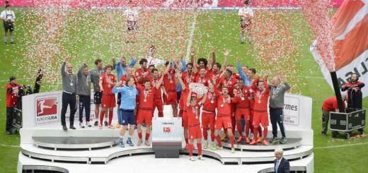 FC Bayern München ist deutscher Meister