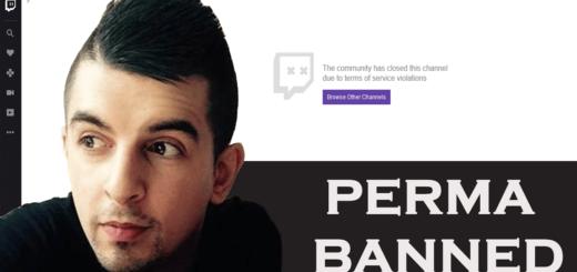 Perma Bann GrossGore Gross Gore lebenslanger Twitch TV Riot Ban