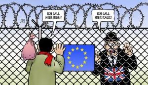 Breixt-Karikatur