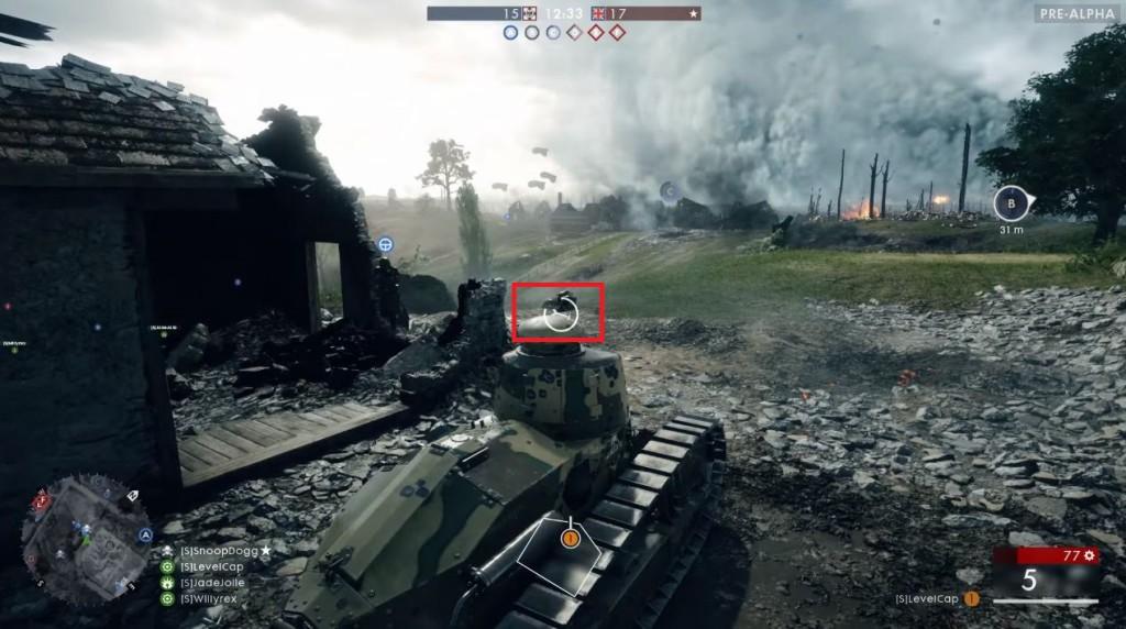 Panzer lassen sich reparieren ohne auszusteigen.