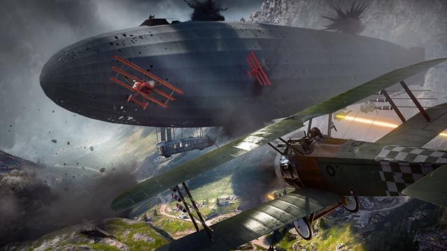 Der Zeppelin hat einen entscheidenen Einfluss auf das Spielgeschehen.