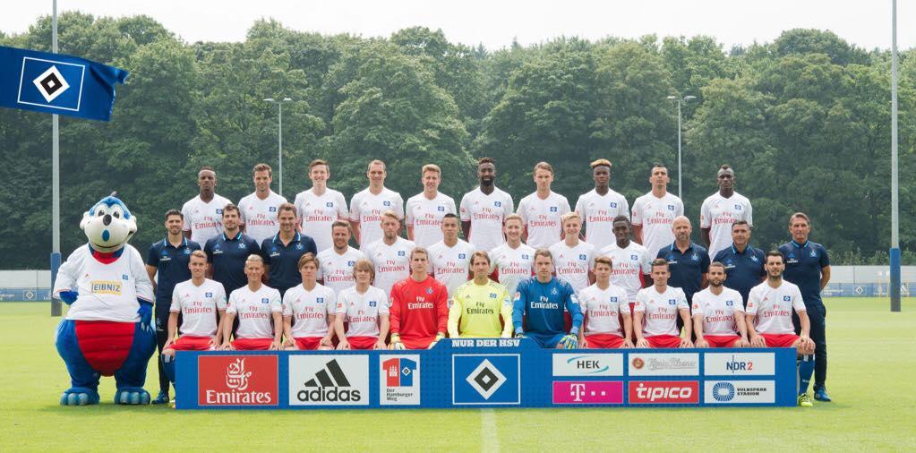 Offizielles Mannschaftsfoto