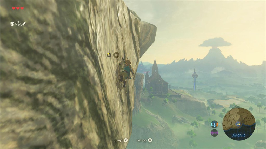 "Ein Screenshot aus ""The Legend of Zelda: Breath of the Wild"""