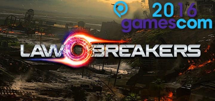 Das Spiel Lawbreakers auf der Gamescom 2016. Für euch angespielt!