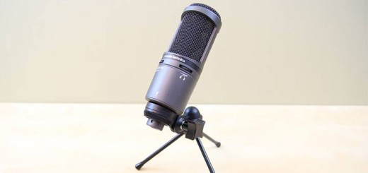 Audio Technica AT2020 USB+ Plus Test Review Mikrofon