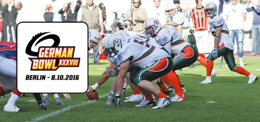 Baltic Hurricanes Canes fliegen aus German Bowl 2016 XXXVIII