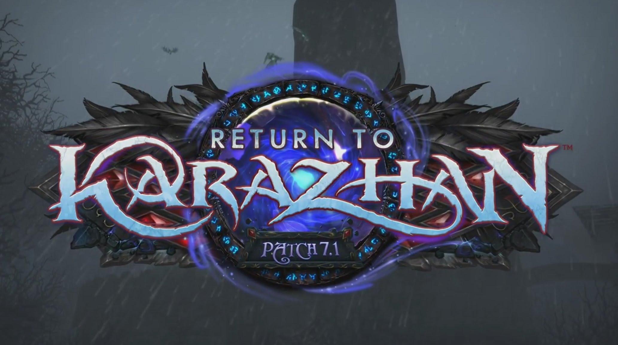 World of Warcraft Patch 7.1 Zusammenfassung