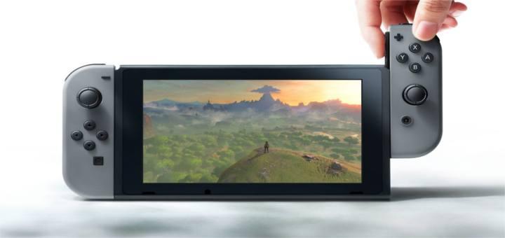 Nintendos neue Konsole: Die Nintendo Switch!