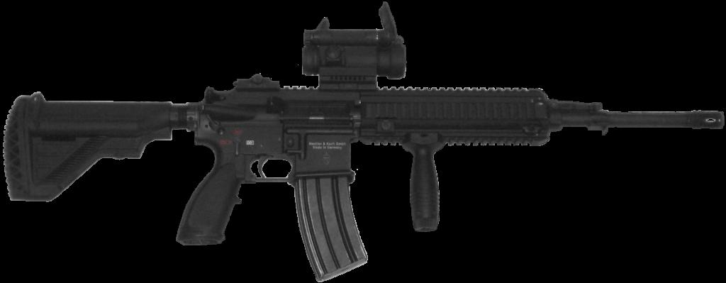 Sturmgewehr HK 416 Quelle: Wikimedia