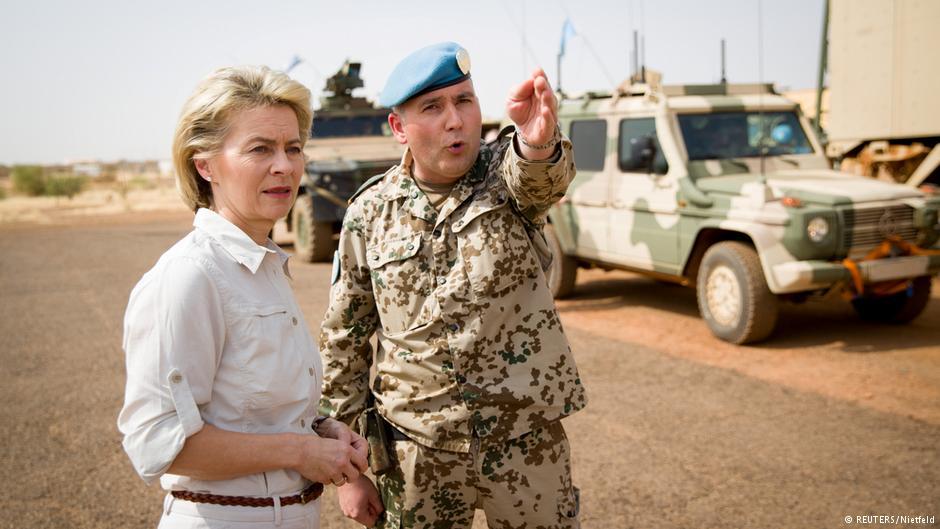 Bundesverteidigungsministerin Ursula von der Leyen in Mali