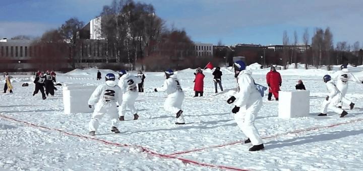 Professionelle Schneeballschlacht - Die Trendsportart aus Japan