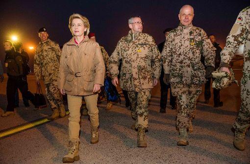 Bundesverteidigungsministerin Ursula von der Leyen (Quelle: dpa)