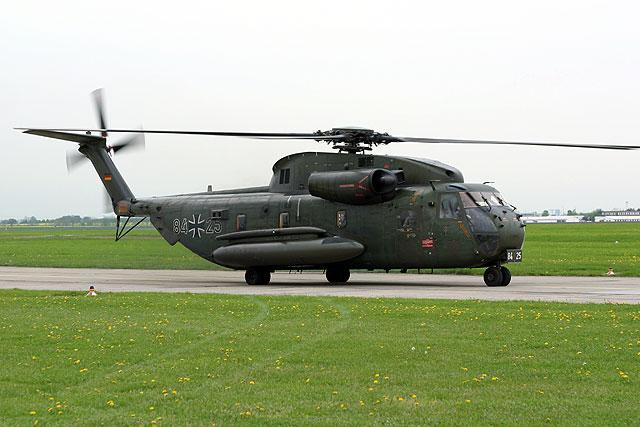 Transporthubschrauber Sikorsky CH-53 (Quelle: Bundeswehr)
