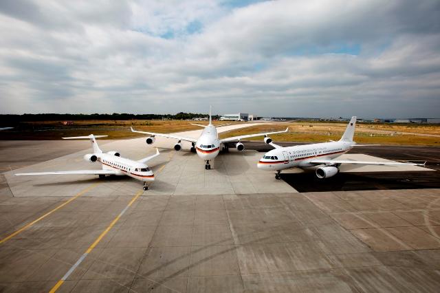 Zuwachs für die Flotte der Flugbereitschaft des BMVg. Künftig wird ein Airbus A321 die Mittel- und Langstrecke ergänzen (Quelle: Bundeswehr/Bicker)