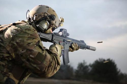 Das neue Sturmgewehr HK 433 (Quelle: Heckler & Koch)