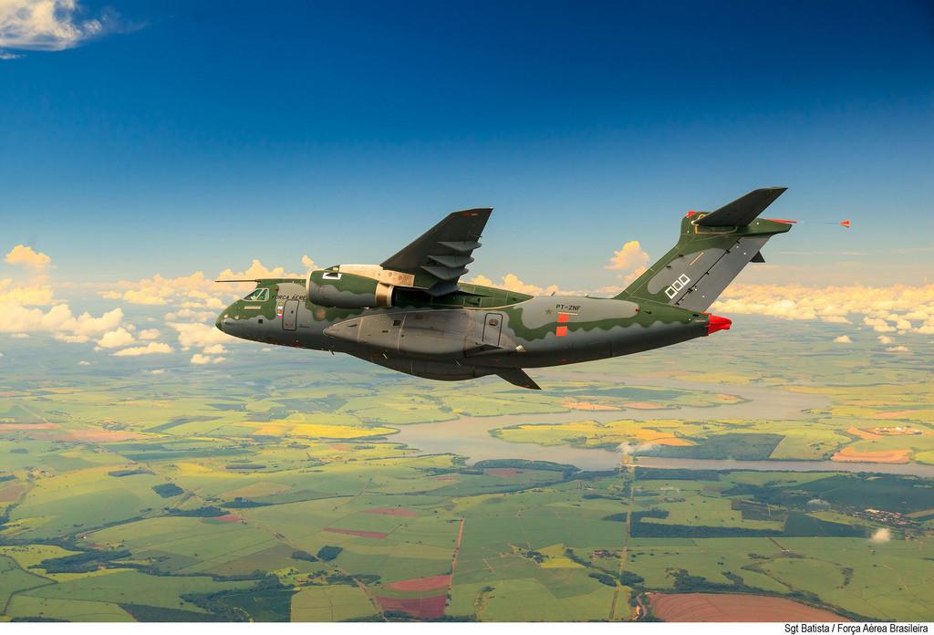 Embraer KC-390 der brasilianischen Luftstreitkräfte (Quelle: Força Aérea Brasileira)