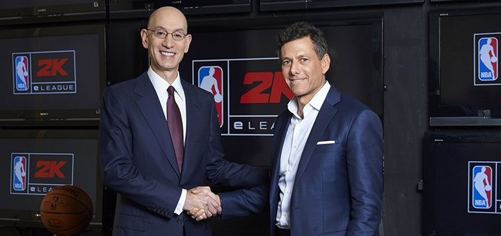 NBA 2K eLeague Announcement Ankündigung eSport Take Two