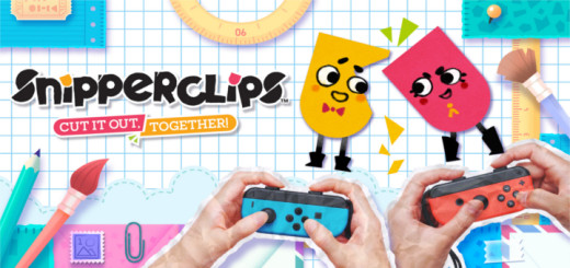 Ein Release Titel für die Nitnendo Switch: Snipperclips!