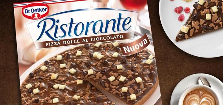 Schokoladenpizza schokopizza dr oetker ristorante