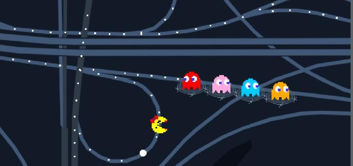 pacman googlemaps pac man google maps aprilscherz