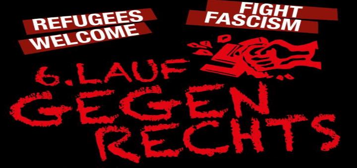 6. LAUF GEGEN RECHTS 2017 - Linksrum um die Alster