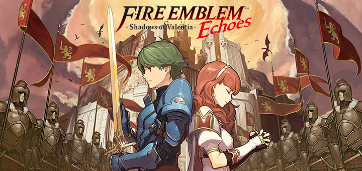 nintendo 3ds fire emblem echoes shadows of valentia