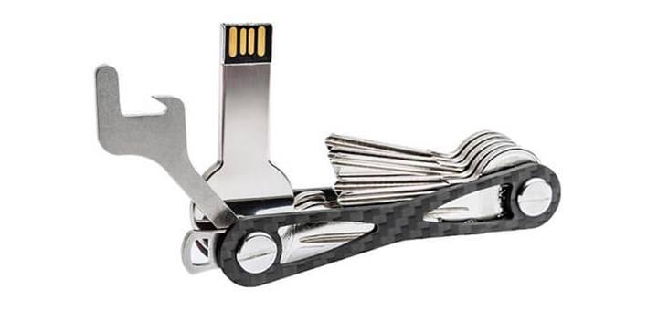 MOKEY key organizer schlüssel klein prakitsch effiziert schlüsselbund schweizer taschenschlüssel taschenmesser kompakt