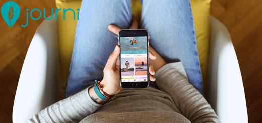 journi reisen Reise Blog Reisetagebuch tagebuch soziales netzwerk urlaub app verbindung