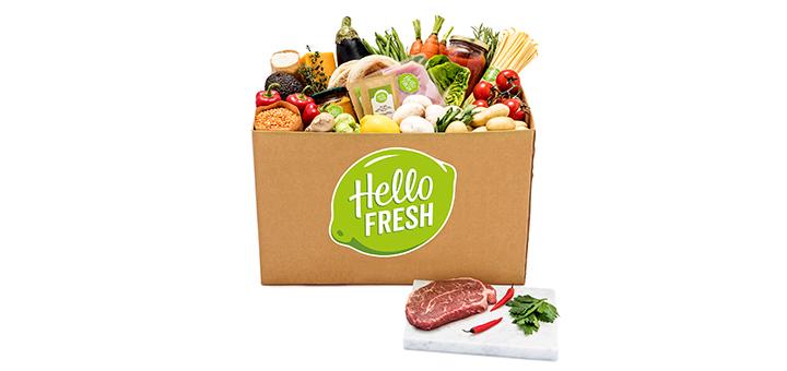Hello Fresh - Frische Lebensmittel mit Rezept direkt für die Haustür