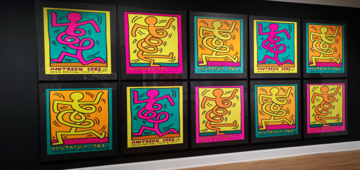 keith haring posteraustellung im museum f r kunst gewerbe hamburg. Black Bedroom Furniture Sets. Home Design Ideas