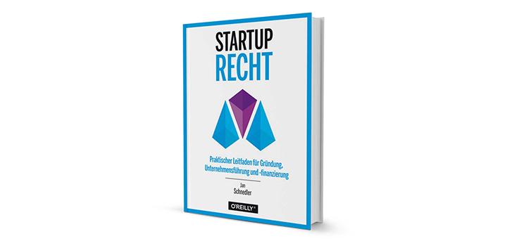 Startup-Recht - Buchrezension über den Leitfaden von Jan Schnedler