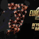 Die Karte des DLC Beyond The Baltic Sea - Euro Truck Simulator 2