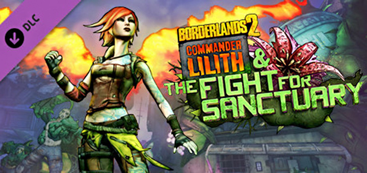 Gamereview - Borderlands 2 DLC Commander Lilith The Fight For Sanctuary