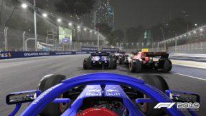 F1 2019 Singapur Fahrer F1 2019 im Test