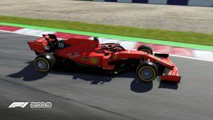 Formel 1 2019 Ferrari Auto F1 2019 im Test