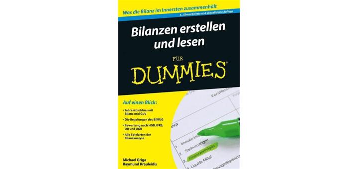 Bilanzen erstellen und lesen für Dummies - Buchrezension