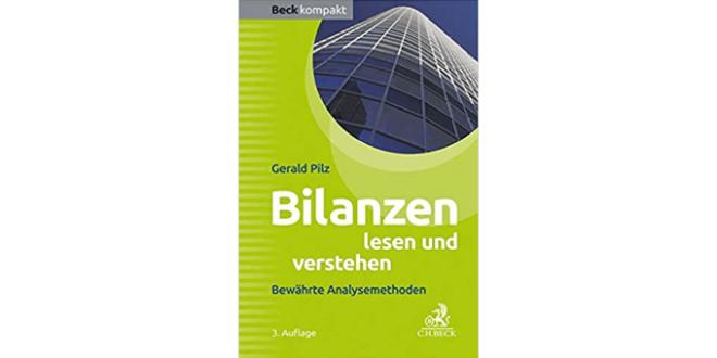 Bilanzen lesen und verstehen von Gerald Pilz - Buchempfehlung