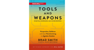 Tools and Weapons – Digitalisierung am Scheideweg – Buchrezension