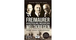 Freimaurer in Deutschland zwischen den Weltkriegen